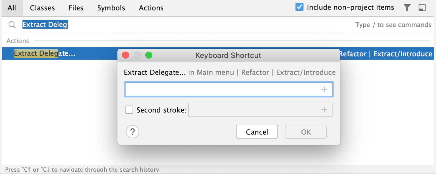 SE_assign_shortcut_to_action
