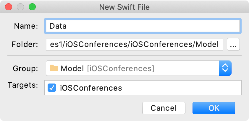 Add Swift file