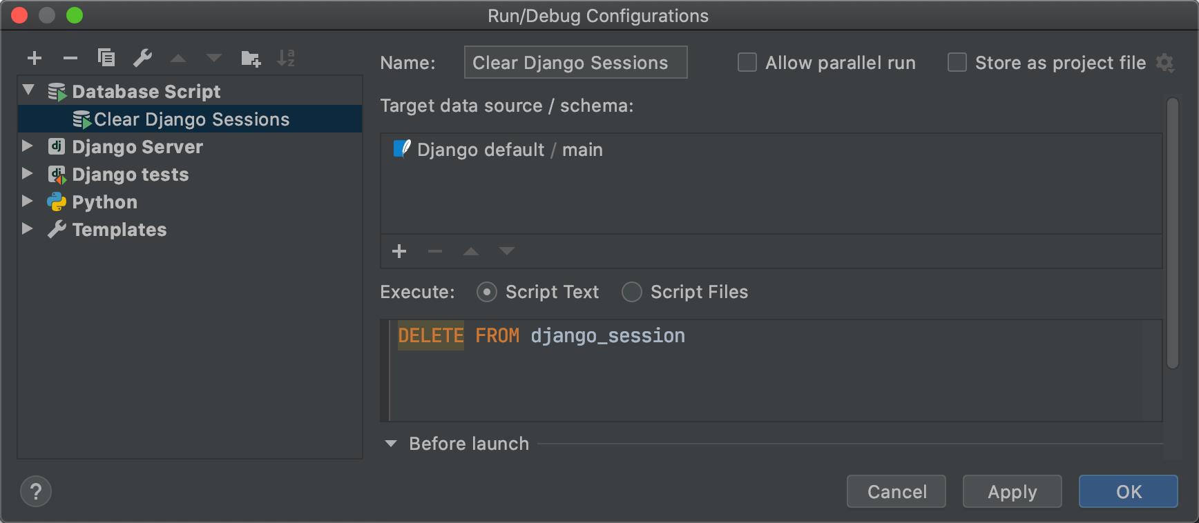 [Blog] Database Scripts