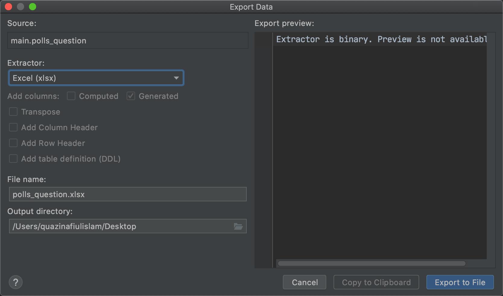 [Blog] Export Excel