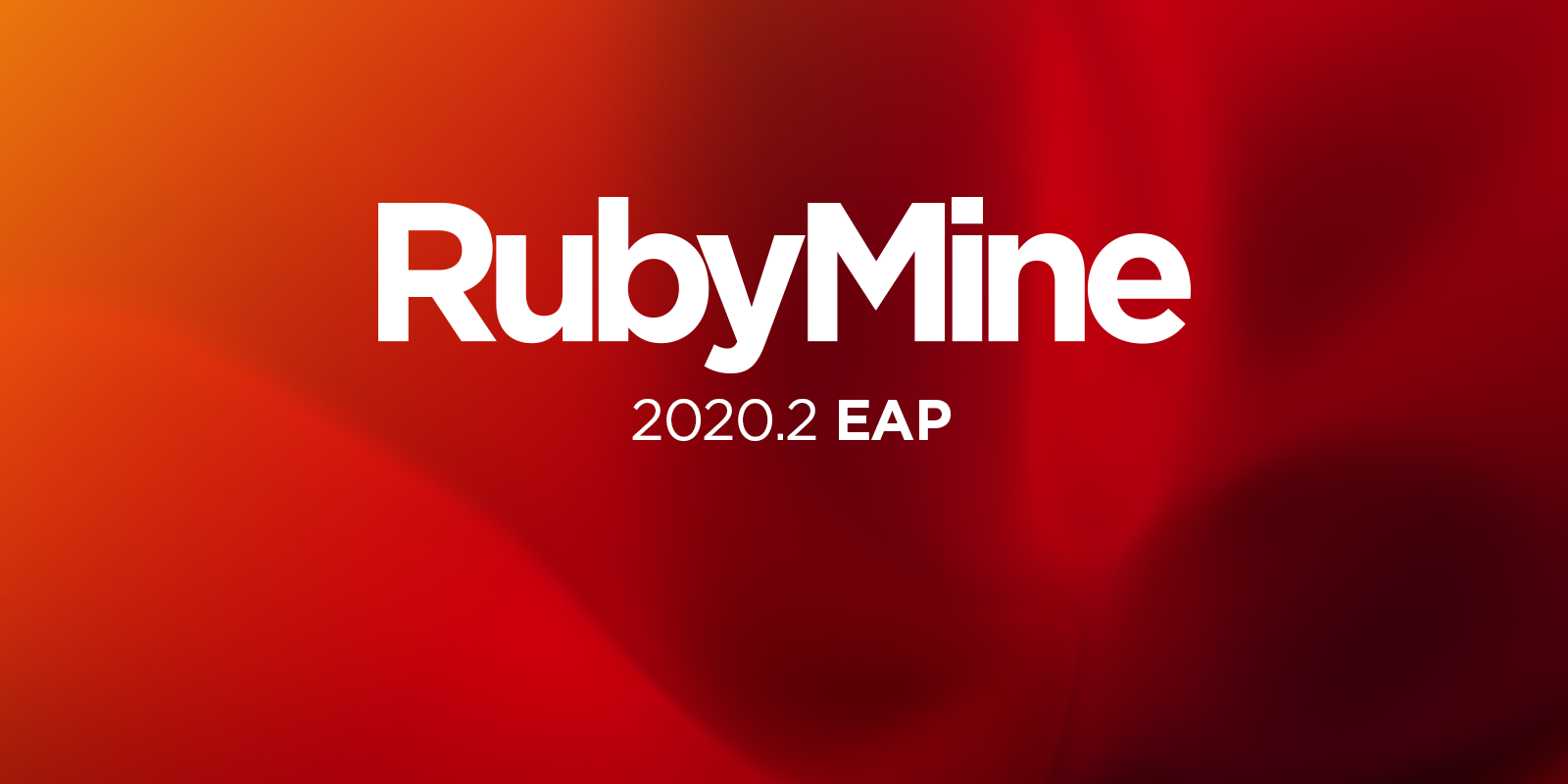 RubyMine 2020.2 EAP is Open!