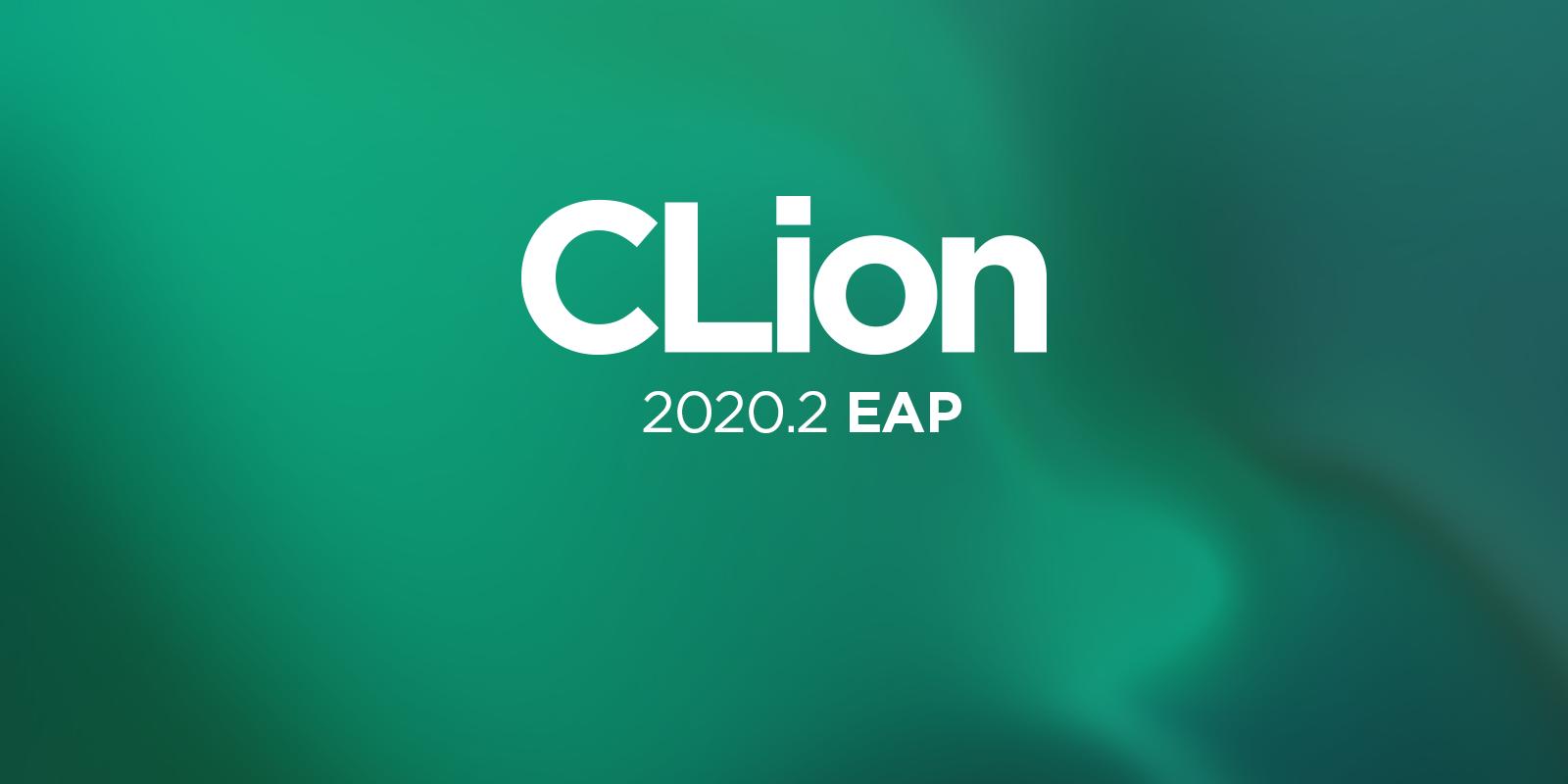 CLion 2020.2 EAP