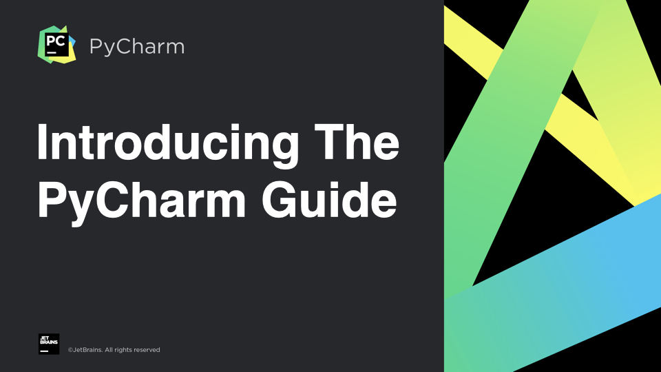 Introducing PyCharm Guide.001