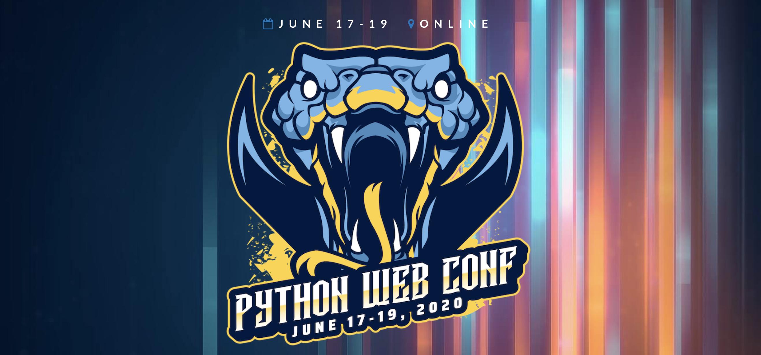 Python Web Conference Logo