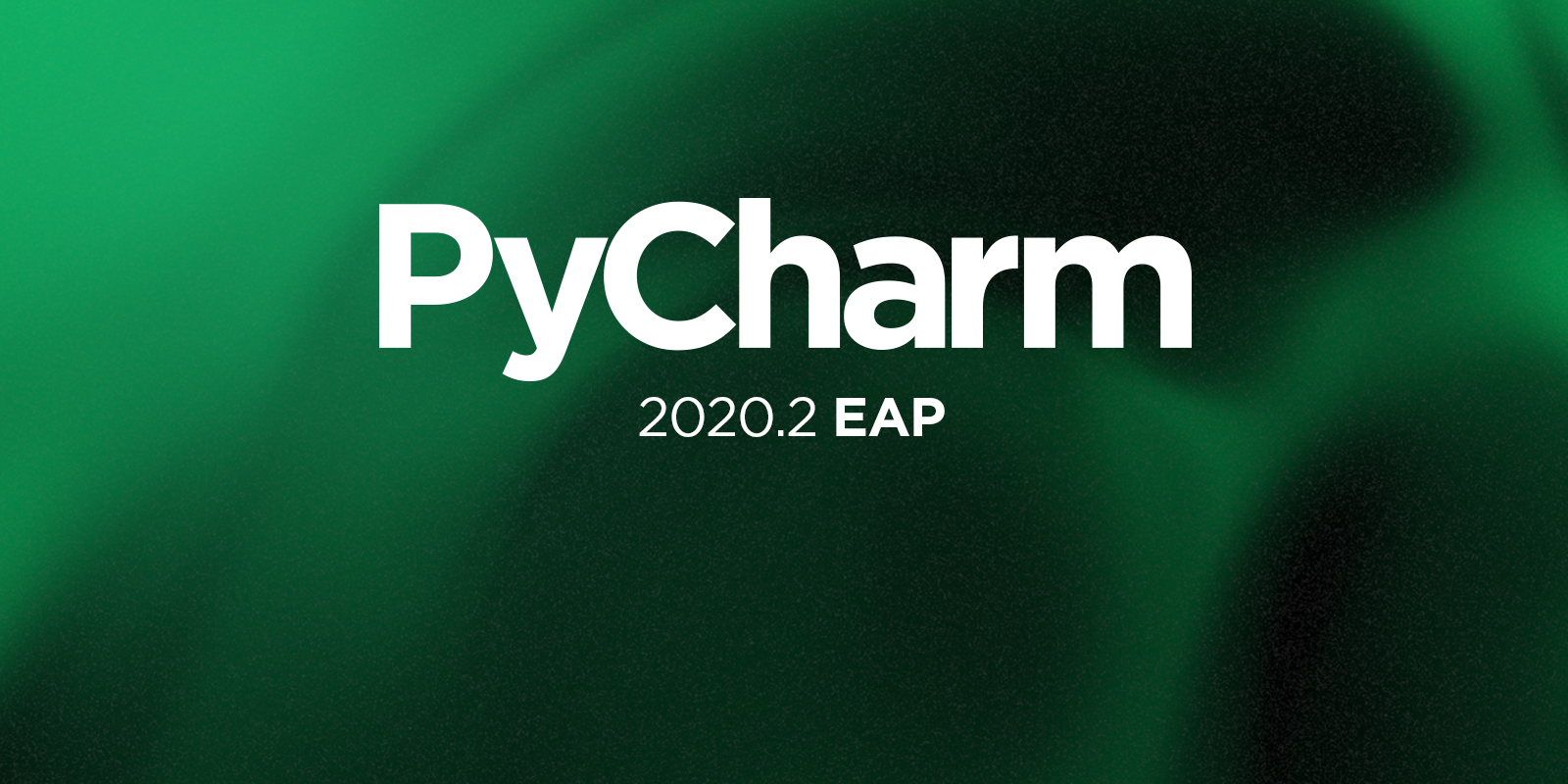 pycharm EAP program