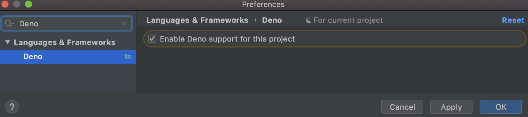 deno-checkbox-preferences