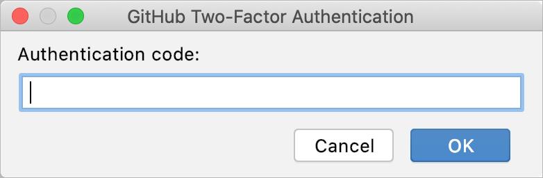 GitHub authentication