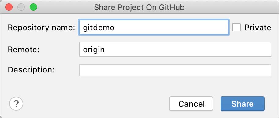 Create GitHub repo