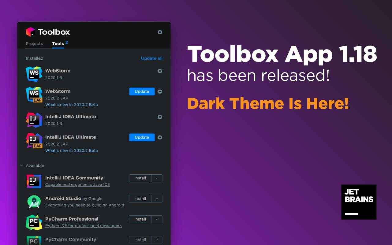 Toolbox App 1.18 Released