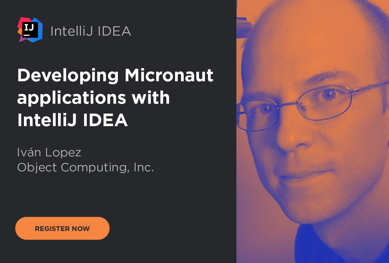 Developing Micronaut applications with IntelliJ IDEA