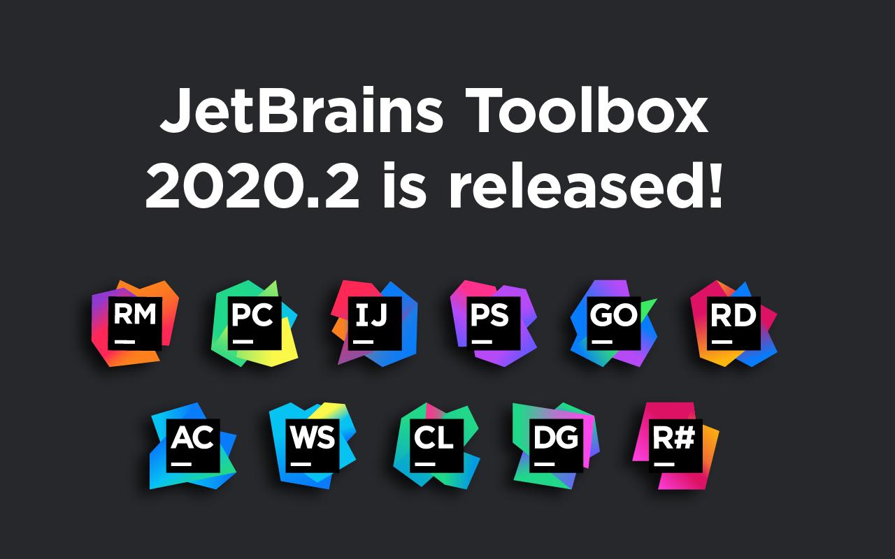 JetBrains Toolbox 2020.2 est disponible