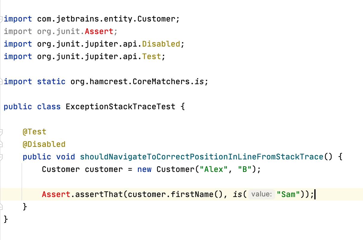 AssertThat Refactor Example