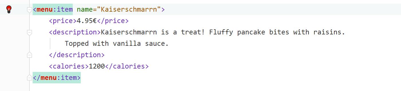 Add a namespace