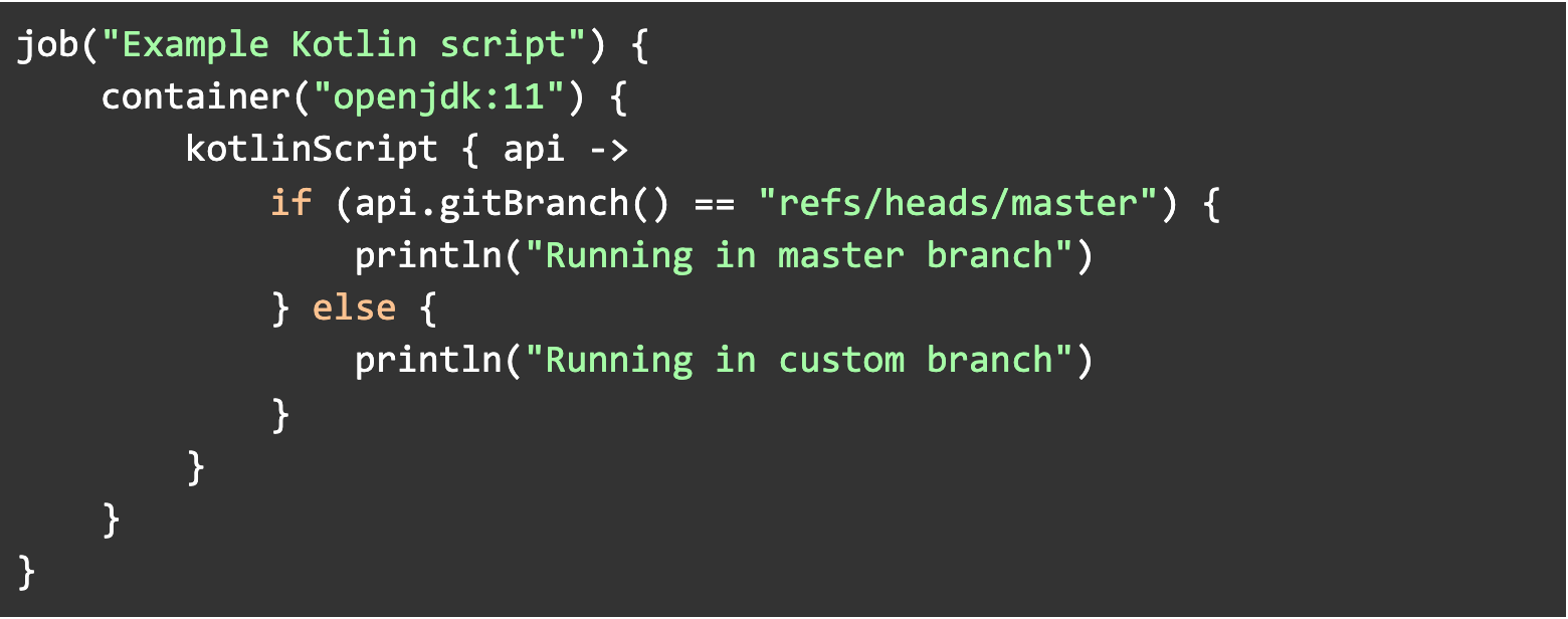Running Kotlin code