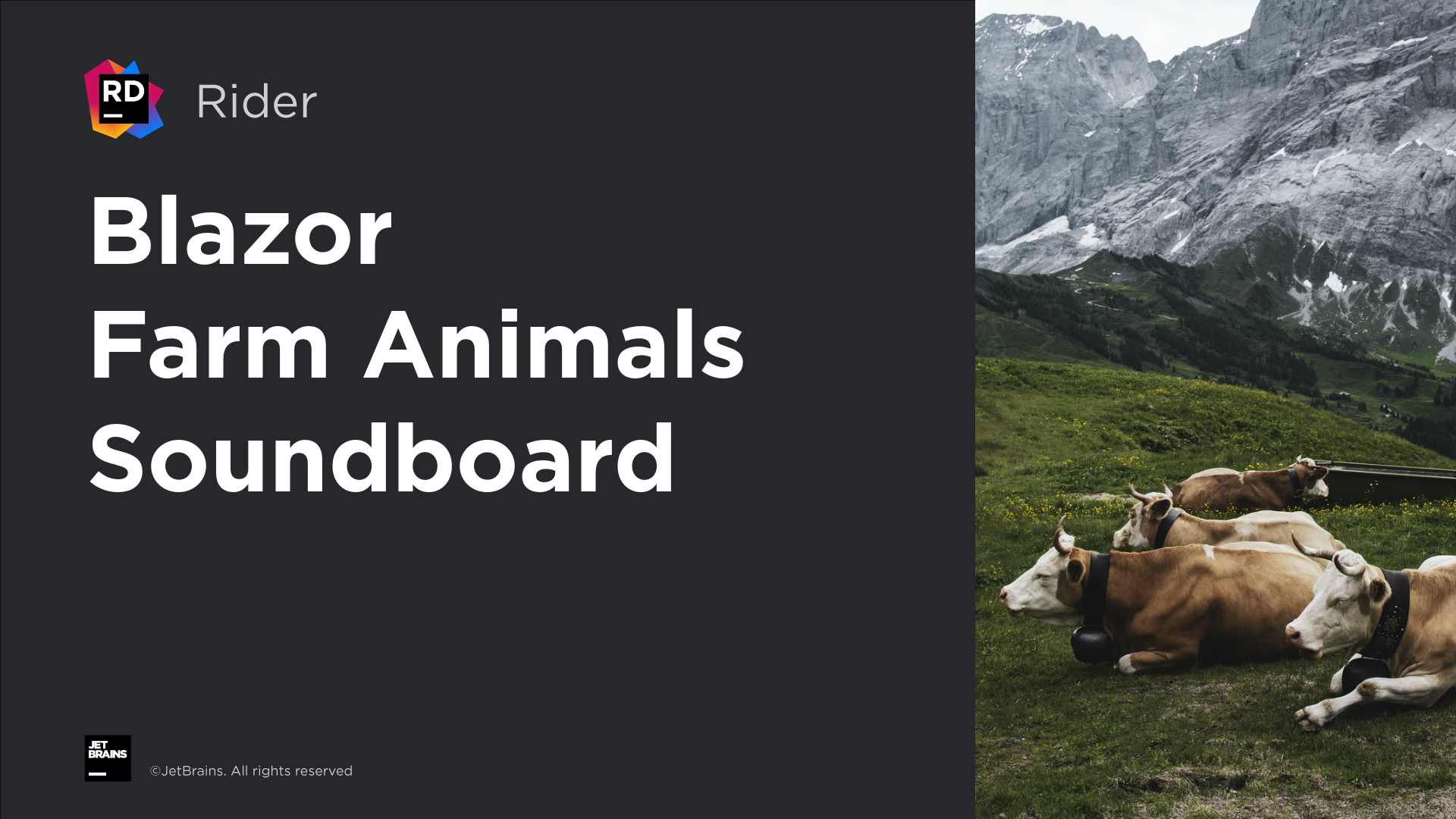 Blazor Farm Animals Soundboard
