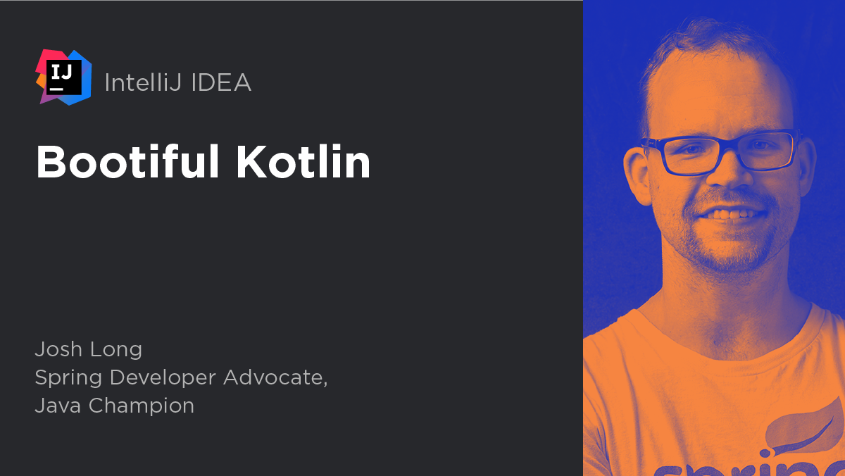 Bootiful Kotlin using IntelliJ IDEA