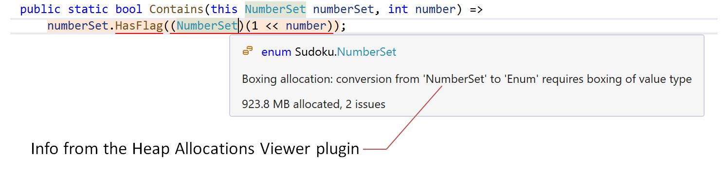 Dynamic Program Analysis in ReSharper. Heap Allocations Viewer plugin
