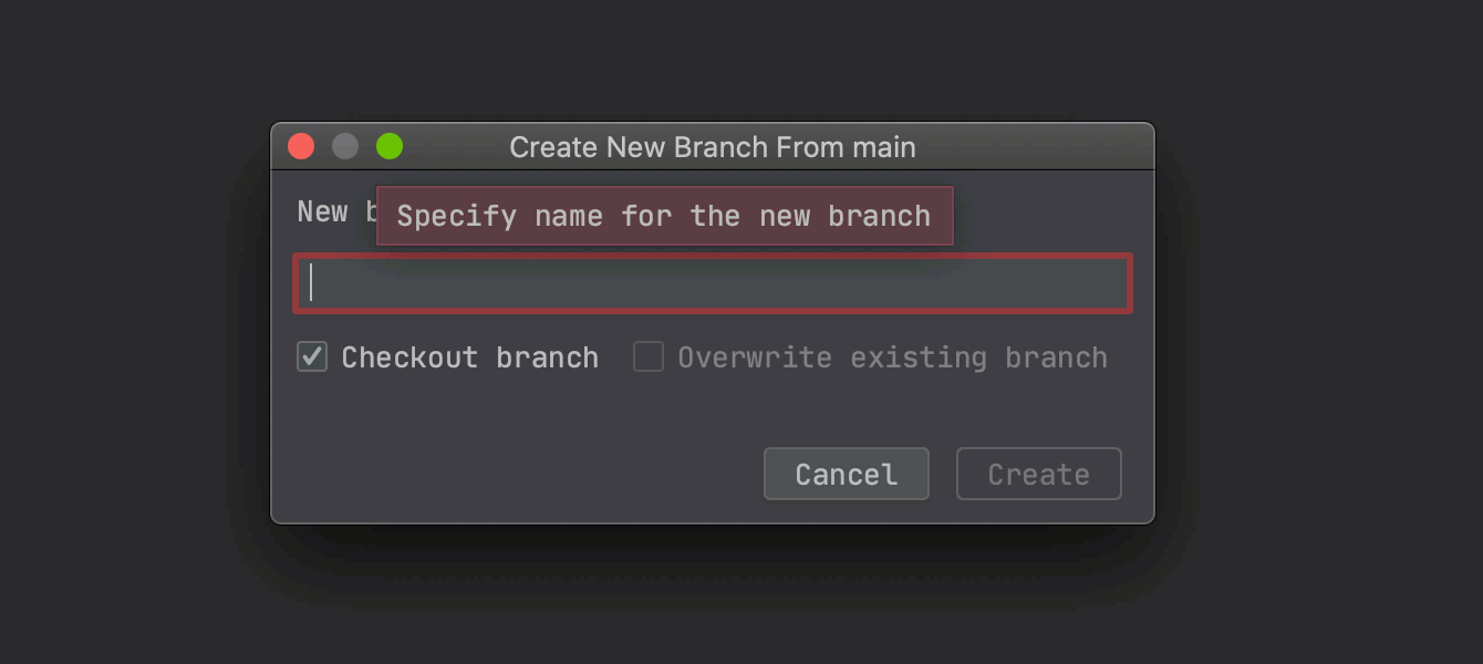 Autocorrecting branch names