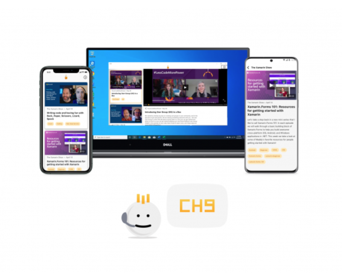 CH9 apps running multiple places