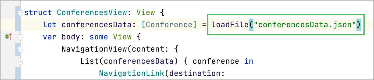 loadFile method