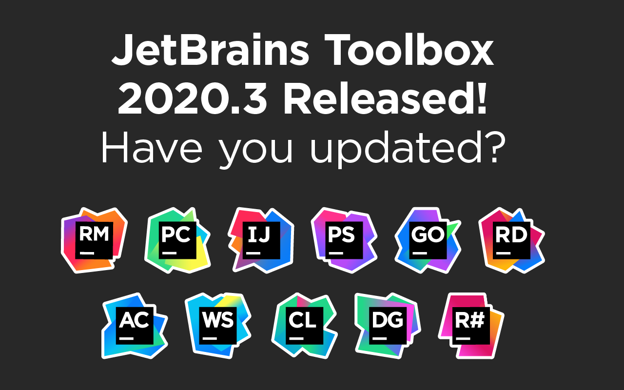 JetBrains Toolbox 2020.3 Released