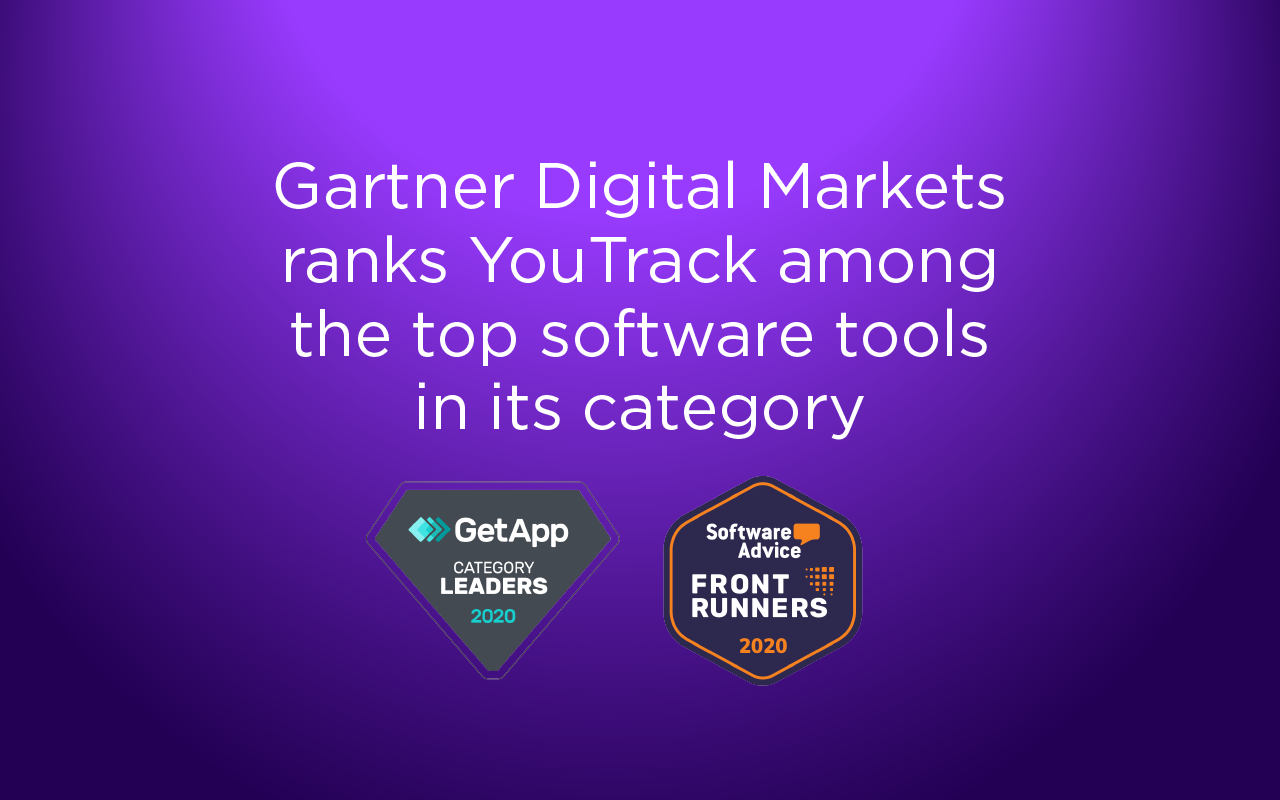 Gartner Digital Markets classe YouTrack