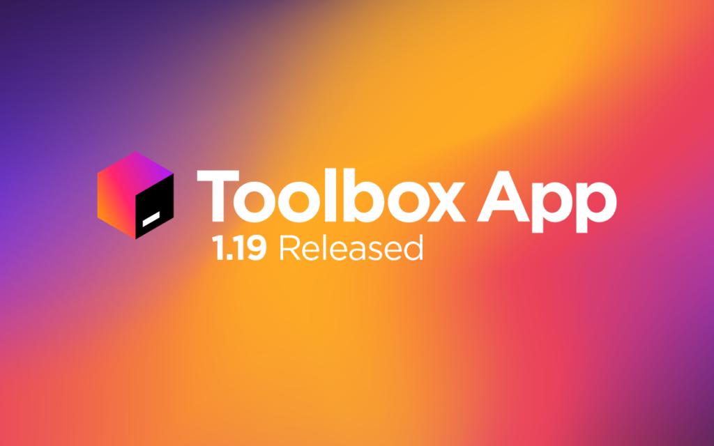 Toolbox App 1.19 Released!