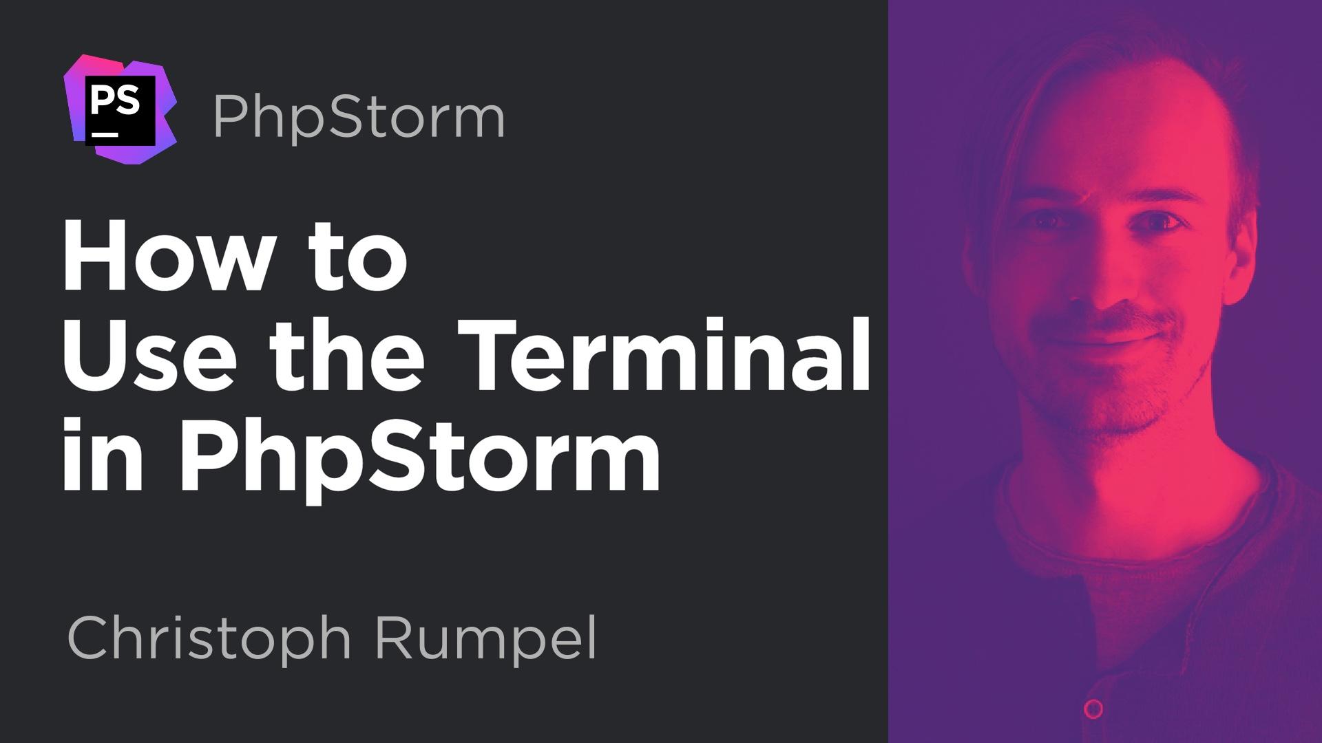 Video: Using the Terminal inPhpStorm