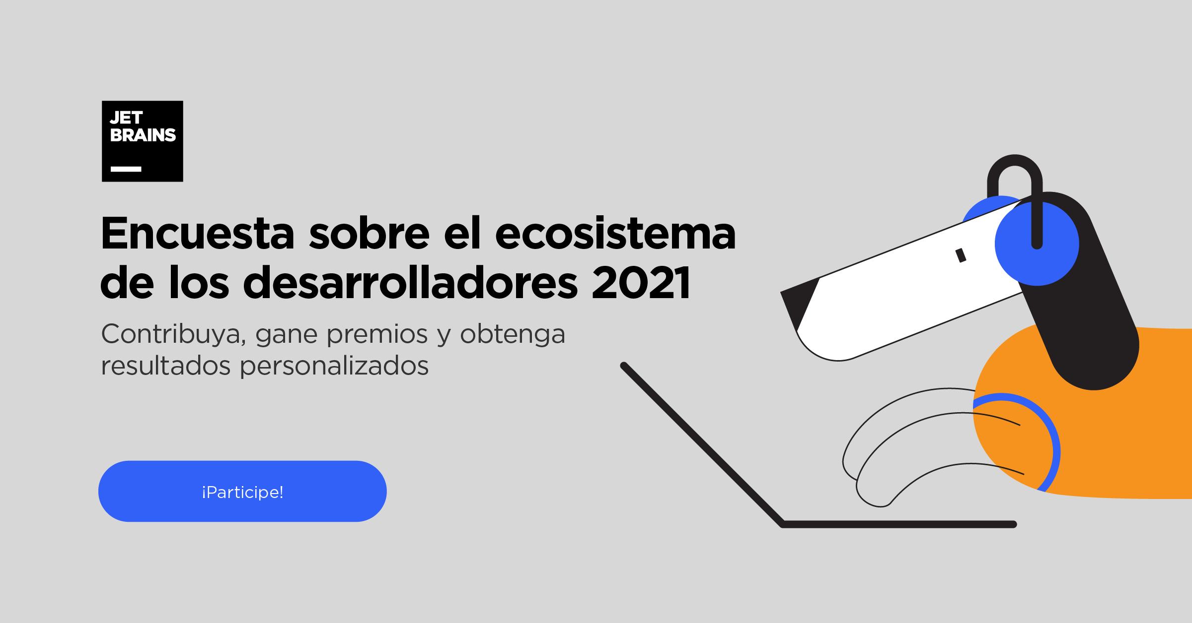 Developer Ecosystem 2020 Survey