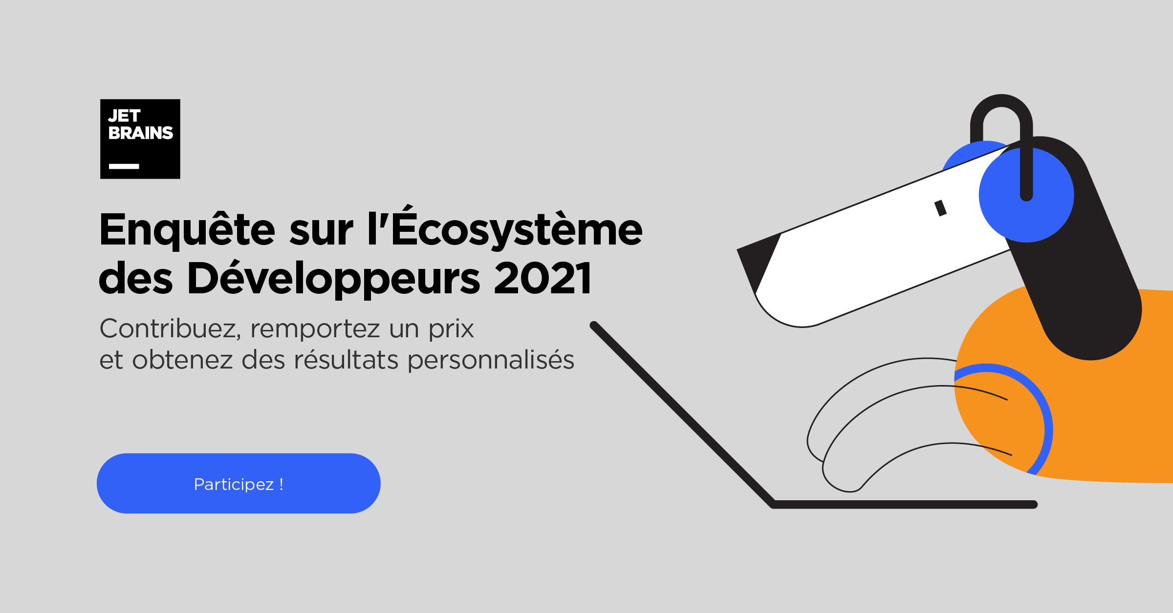 5e Enquête annuelle sur l'Écosystème des Développeurs de JetBrains
