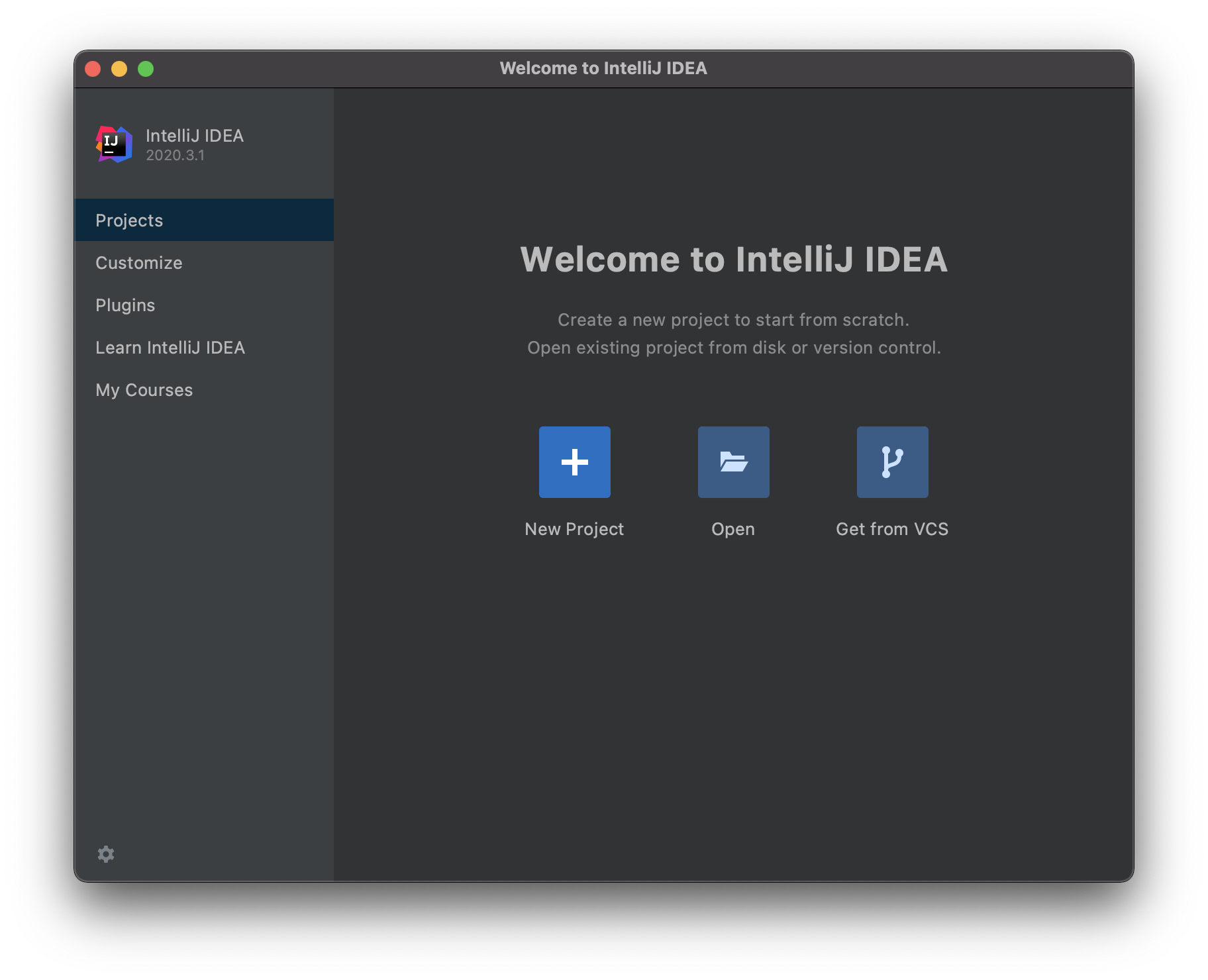 Welcome to IntelliJ IDEA