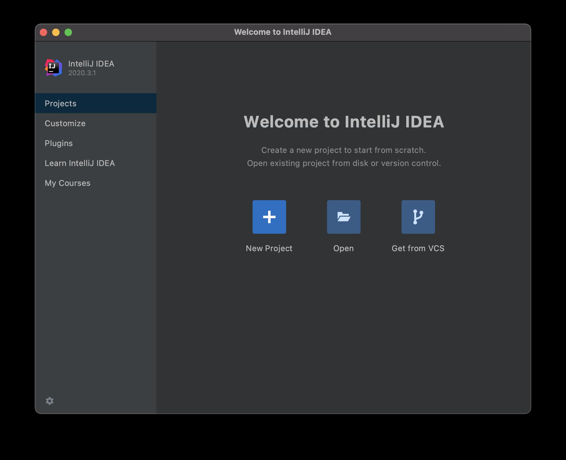 Welcome to IntelliJ IDEA