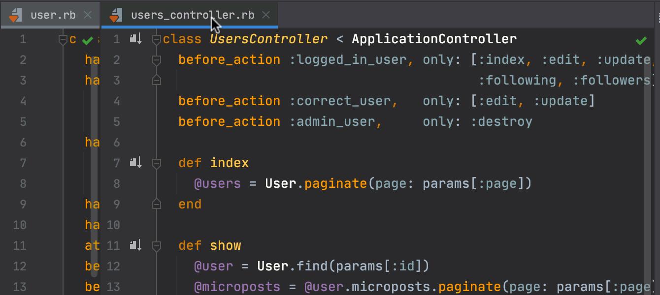 Maximize editor tabs