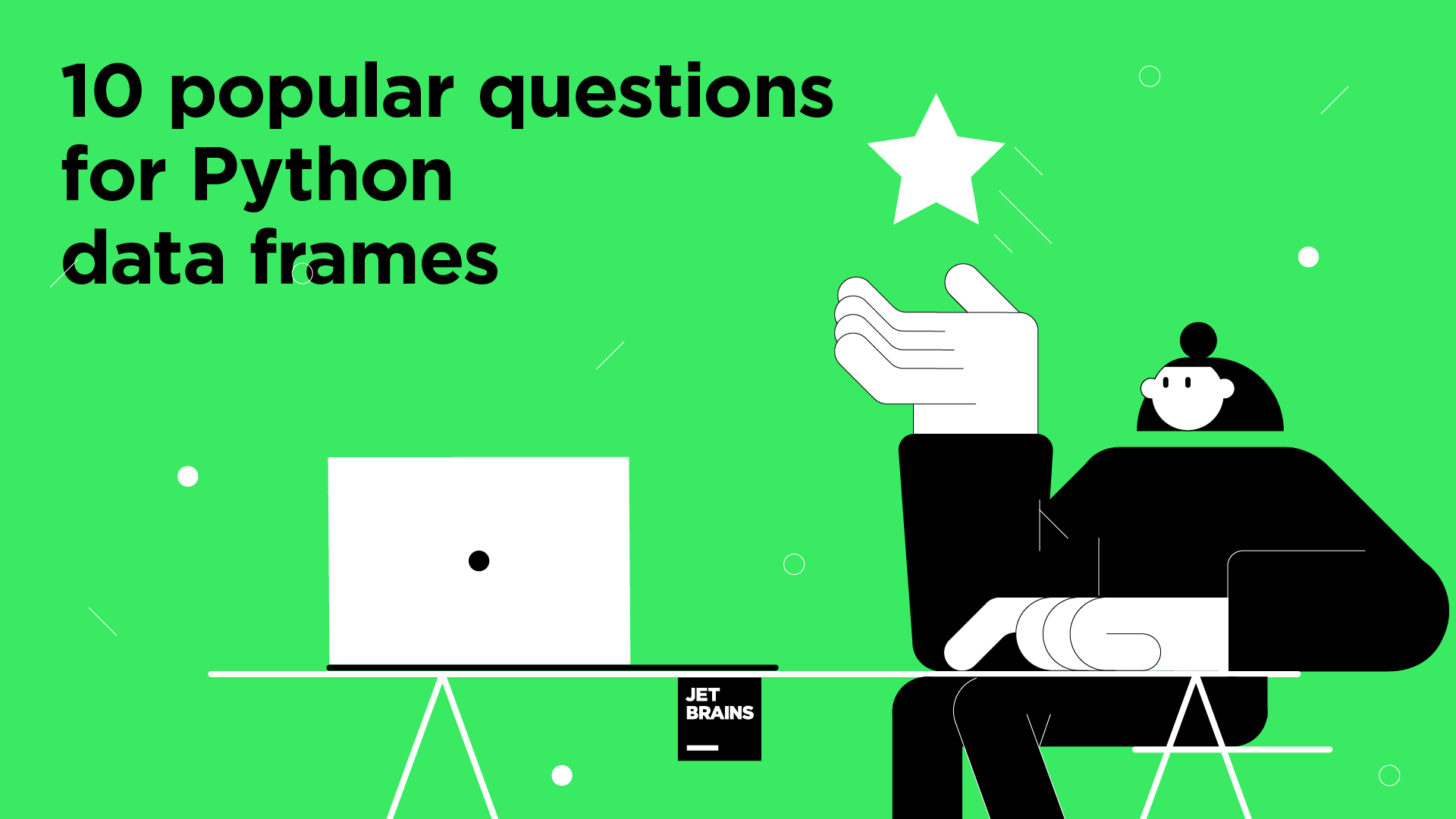 Pandas Tutorial: 10 popular questions for Python data frames