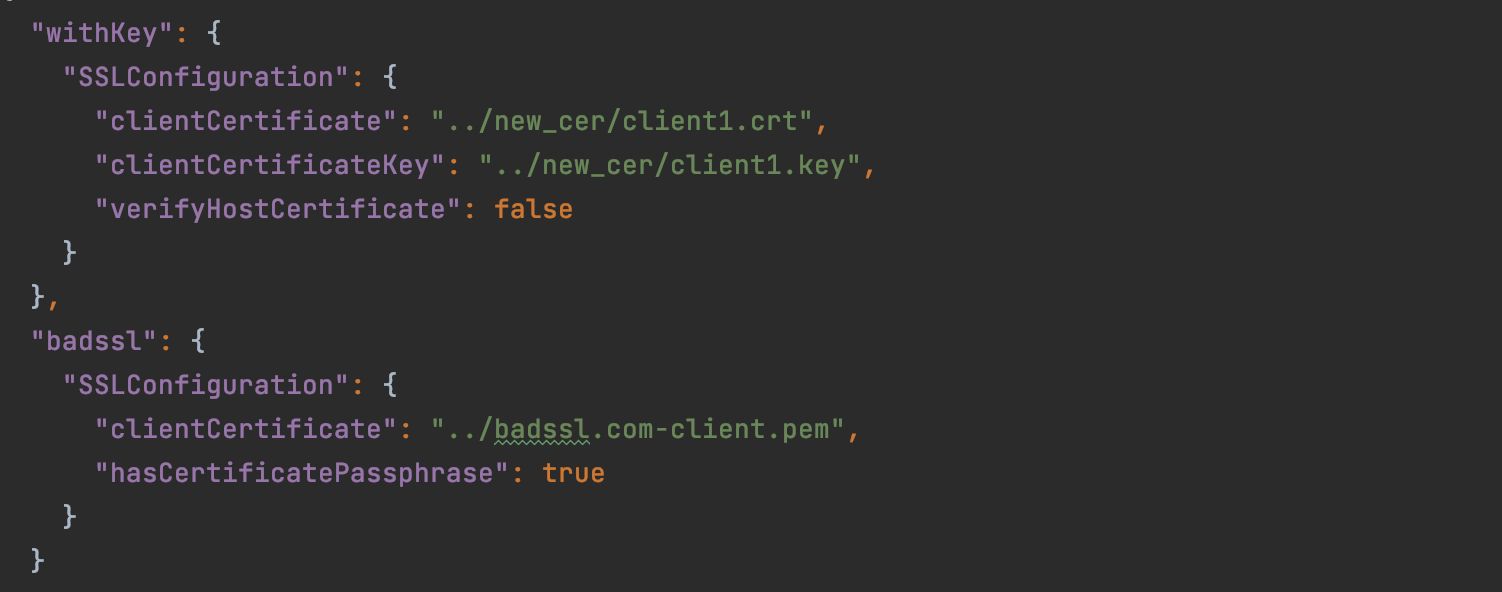 SSL in HTTP Client