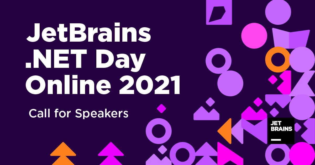 JetBrains .NET Day Online 2021