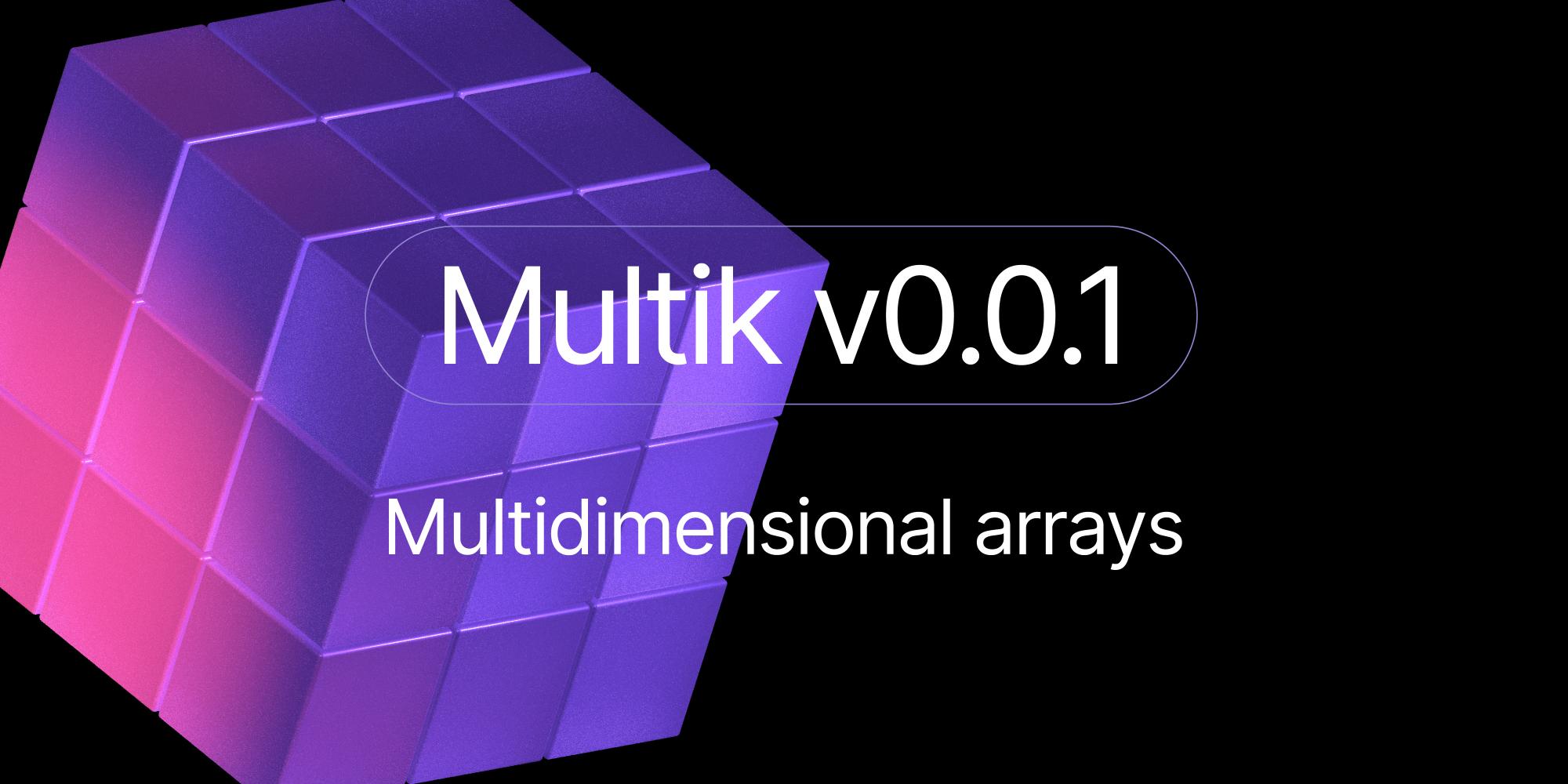 Multik: Multidimensional Arrays in Kotlin