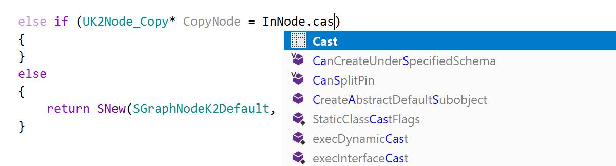 Postfix template for Cast