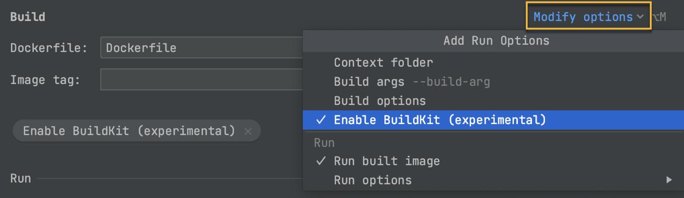 BuildKit support
