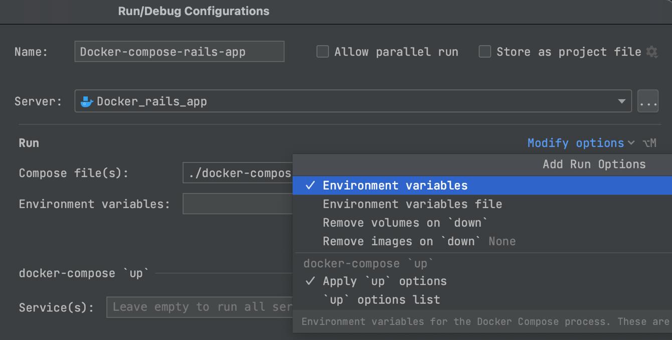 Improved Run/Debug Configurations