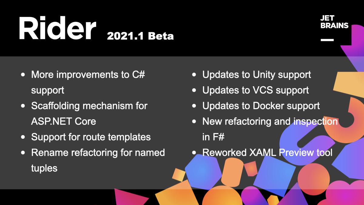 Rider 2021.1 Reaches Beta!