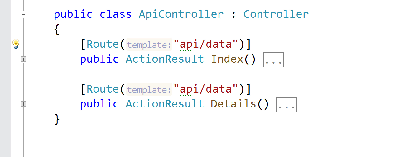 Extract route templates to controller