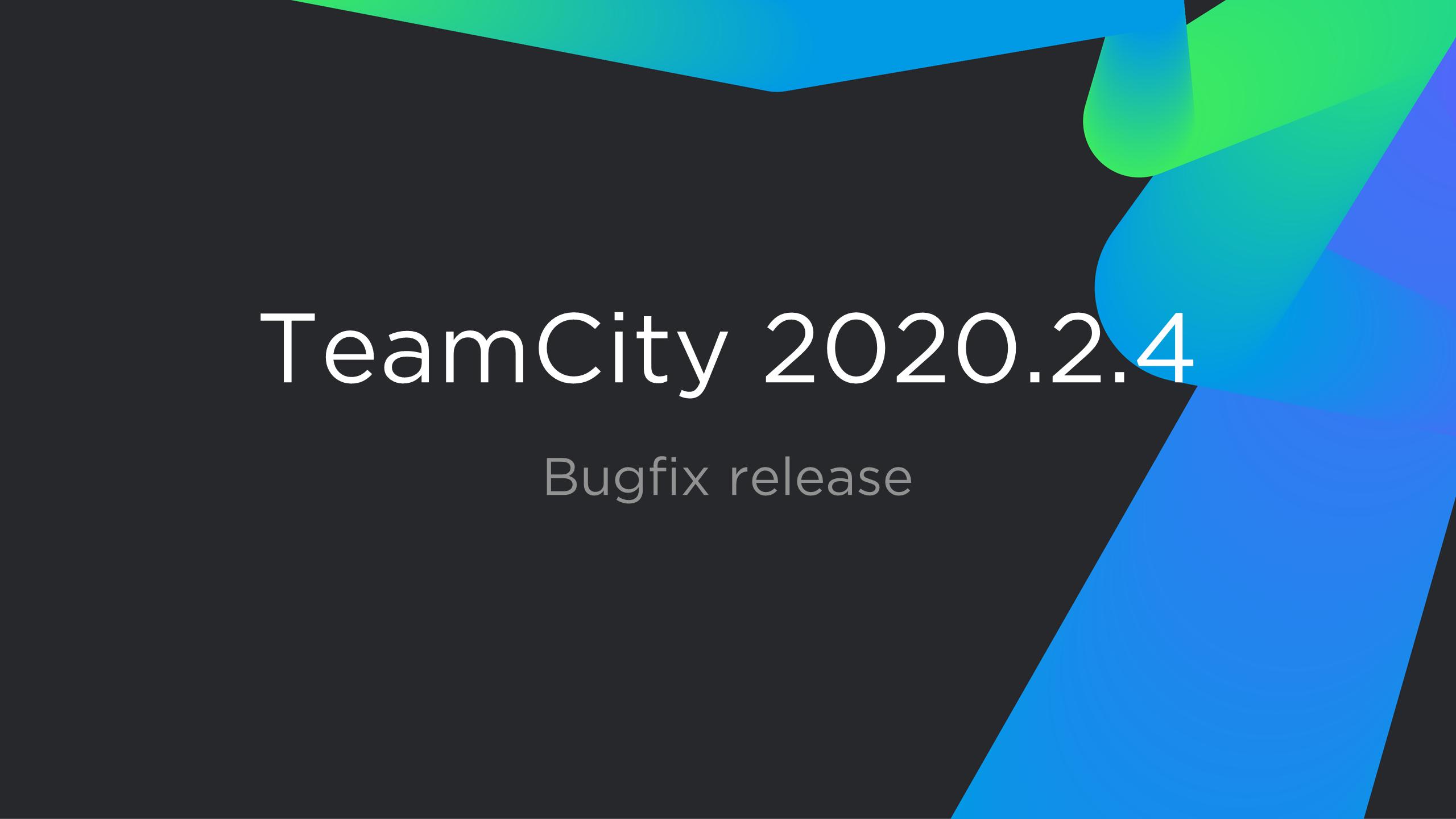 TeamCity 2020.2.4