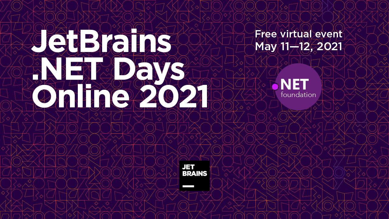 JetBrains .NET Days Online 2021
