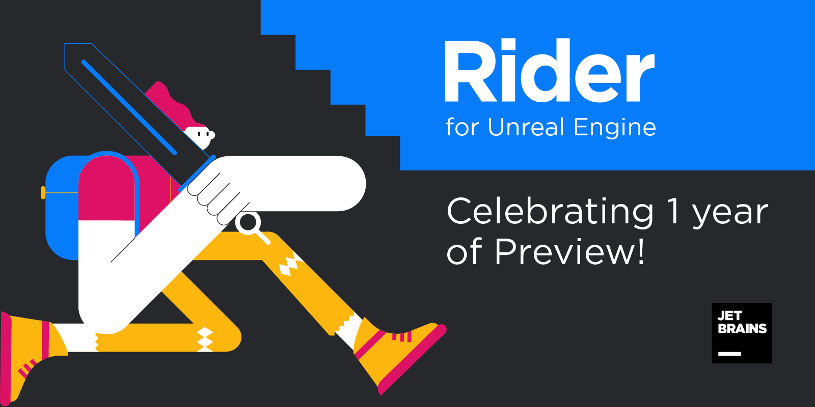 Rider4UE 1 year of Preview