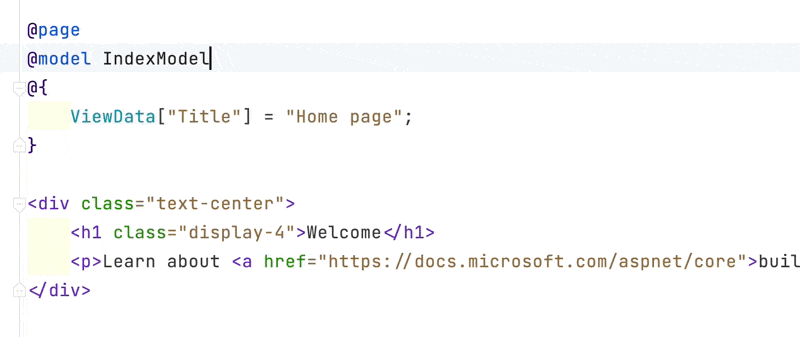 AceJump finding div in an HTML file.