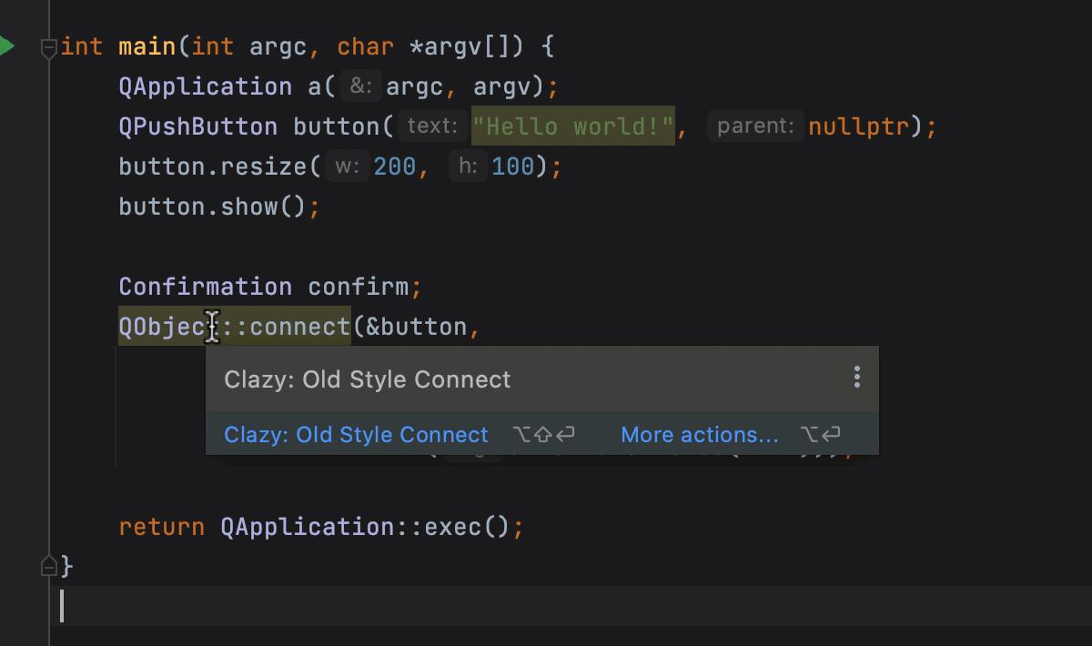 Clazy integration