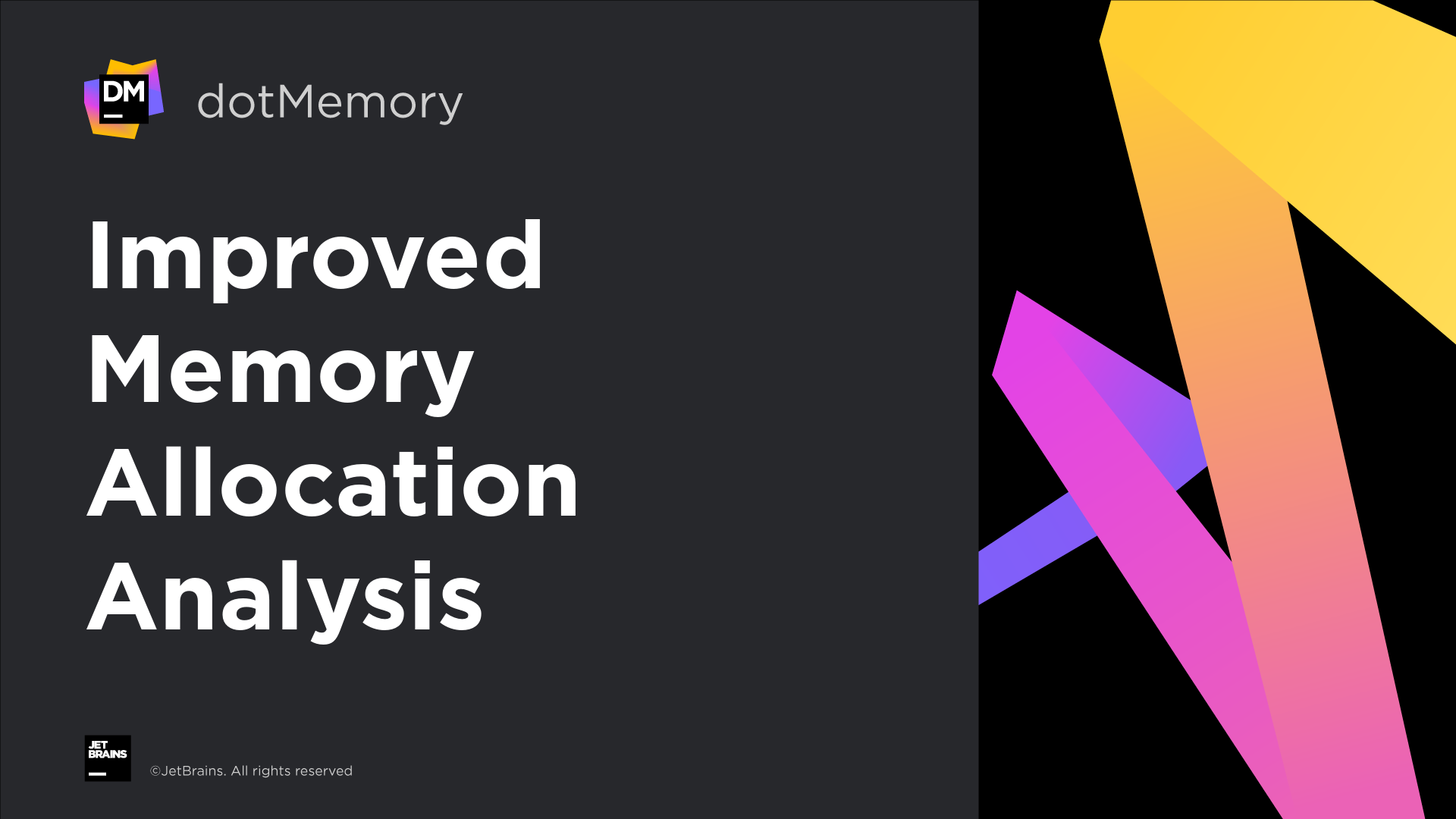Improved memory allocation analysis