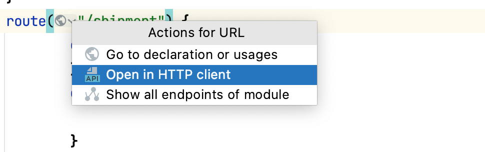 Generate Http Client