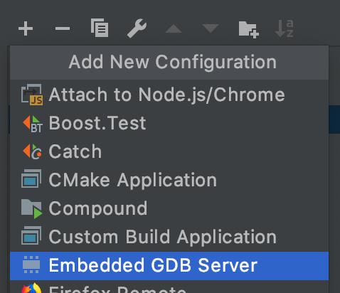 Embedded GDB Configuration